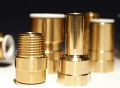Латунные фитинги - 10, 15, 22 и 28 мм