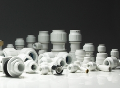 Пластиковые фитинги - 10, 15, 22 и 28 мм